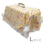 キャリーカバー(黄色ケーキ柄 Lサイズ)【CK-027L】