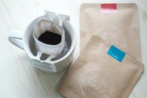 玄米デカフェ ギフトボックス 米粉クッキーセット 体にやさしいノンカフェイン、おうち時間、飲み物 アトリエ玄米デカフェ、MNH