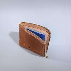 L Zip Small Wallet / 2 tone