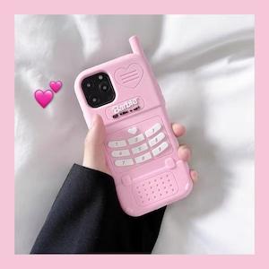 【お取り寄せ】ゆめかわ モバイル風 iPhoneカバー