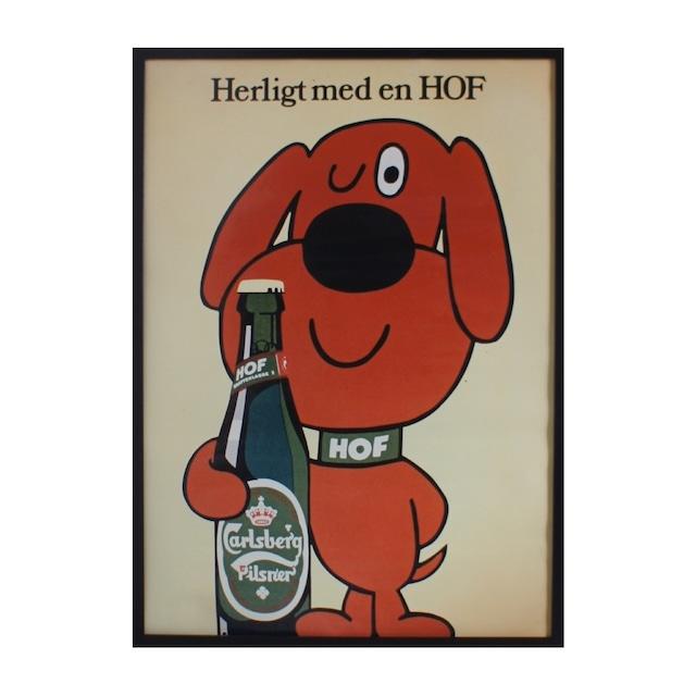 Poster AD Carlsberg / CB-1960