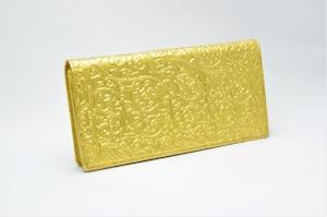 長財布(薄型)金箔・アラベスク柄・プレミアム