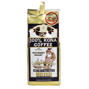 100%コナコーヒーGROUND(挽き済みの粉) マルバディ(7oz 198g) ハワイコナコーヒー
