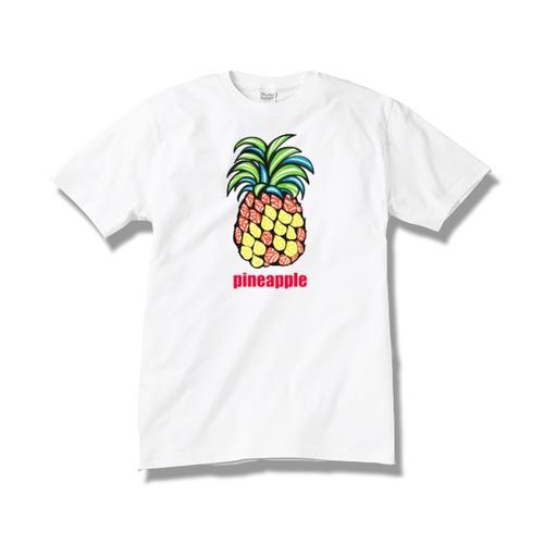 Tシャツ パイナップル / white