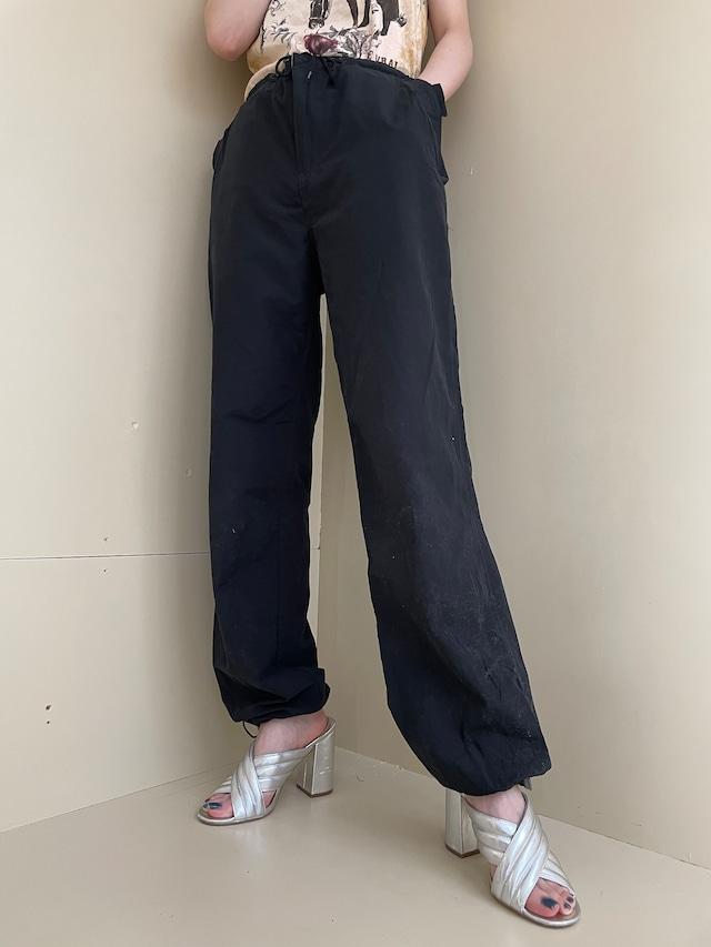 draw cord nylon pants / 6SSPT19-65