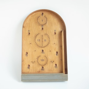 Pinball game board