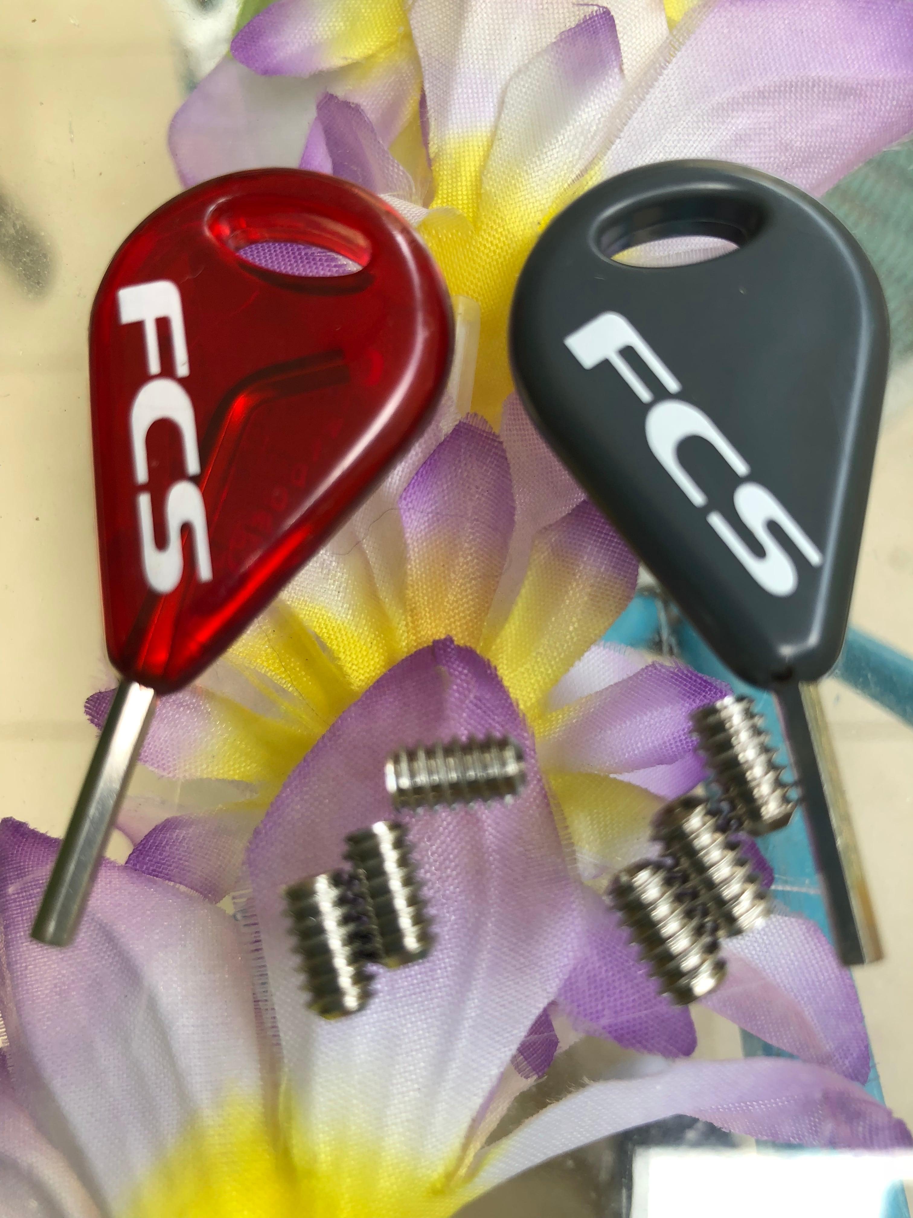 FCSフィンネジ6個&キー2個セット
