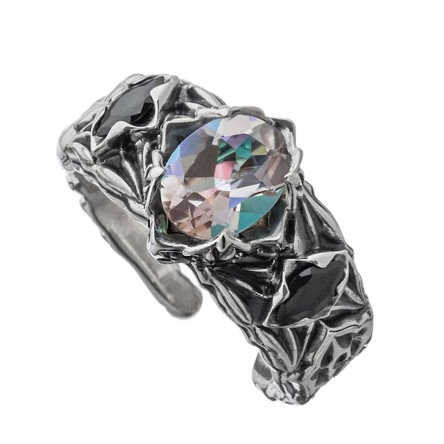 ロンバスミスティックリング白虹 ACR0290 Rhombus Mystic Ring White Rainbow