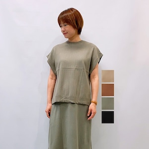 LILLY LYNQUE(リリーリン) Back pleats TOPS 2021秋冬新作 [送料無料]