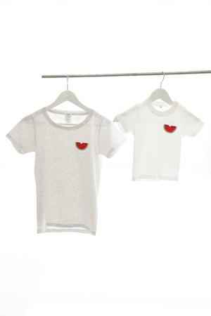 スイカ刺繍Tシャツ レディースS〜Lサイズ