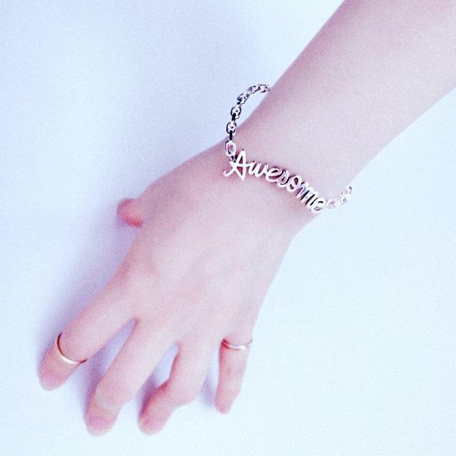 messege bracelet Awesome