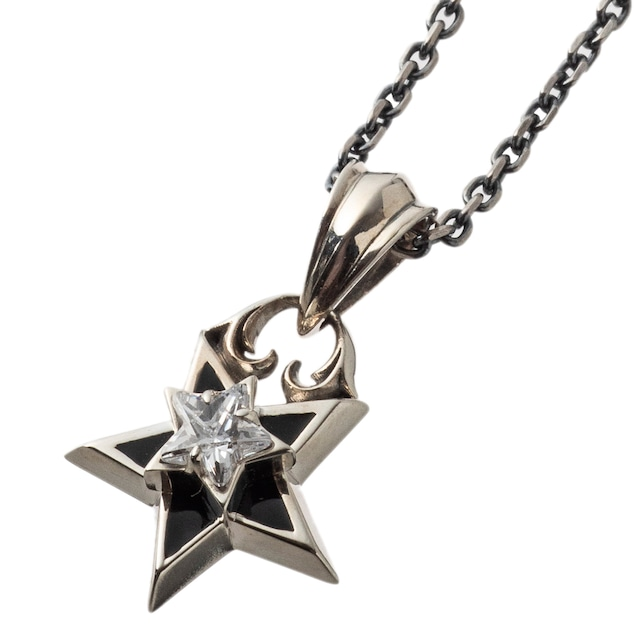 ダブルスターペンダント ACP0343 Double star pendant