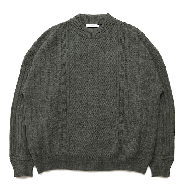 【YASHIKI】Icho Knit