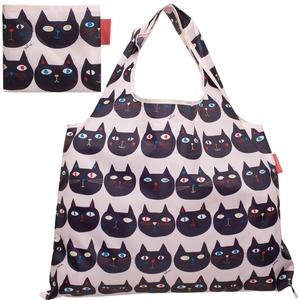 ショッピングバッグ 「ミミココモモ」 折りたたみエコバッグ(DJQ-6314-PO)