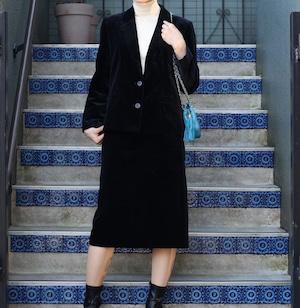.Christian Dior VELOUR SET UP SKIRT/クリスチャンディオールベロアセットアップスーツ2000000055862