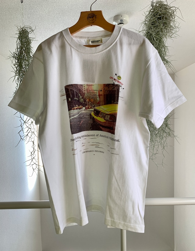 CITY ATTACK  TAXI  tee  (Tシャツ,フォトプリント,新作,送料無料)