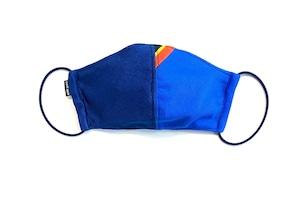 【夏用デザイナーズマスク 吸水速乾COOLMAX使用 日本製】SPORTS MIX MASK F0812119