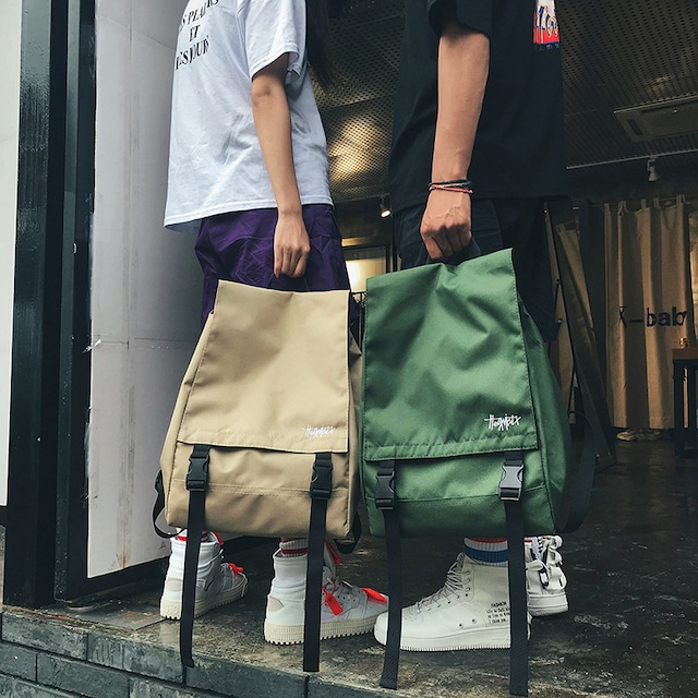 【バッグ】ストリート系ヒップホップリュックバッグ43204009