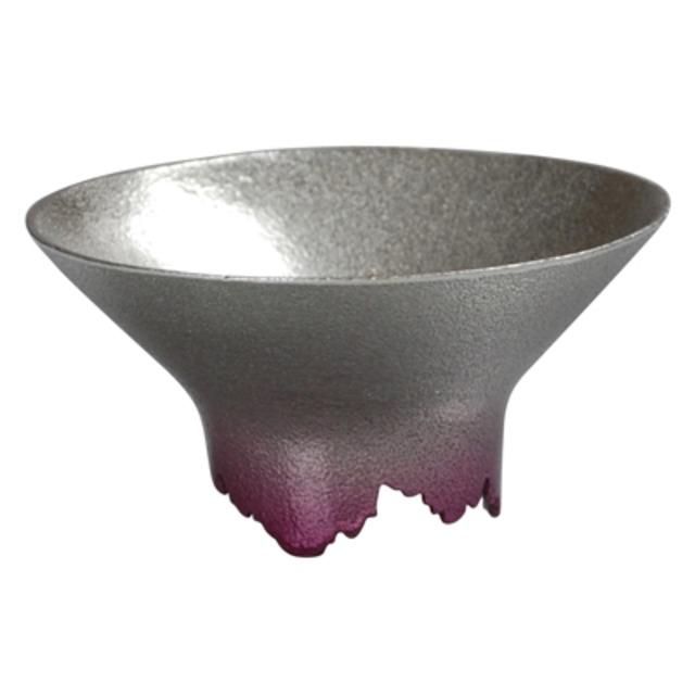 SHIKICOLORS YAEZAKURA SAKE CUP(錫の酒器)
