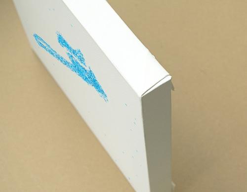 Glitter Brush キャンバスプリント(B3サイズ・木製パネル貼り)