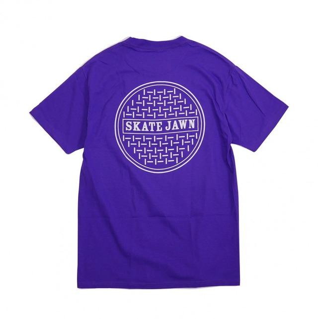 SKATE JAWN【Sewercap Tee - Purple】