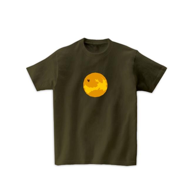 宇宙Tシャツ-金星(オリーブ)