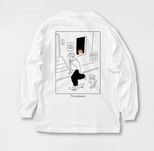 Flower point Long t-shirt
