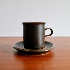 [SOLD OUT] Arabia アラビア / Ruska ルスカ コーヒーカップ&ソーサー