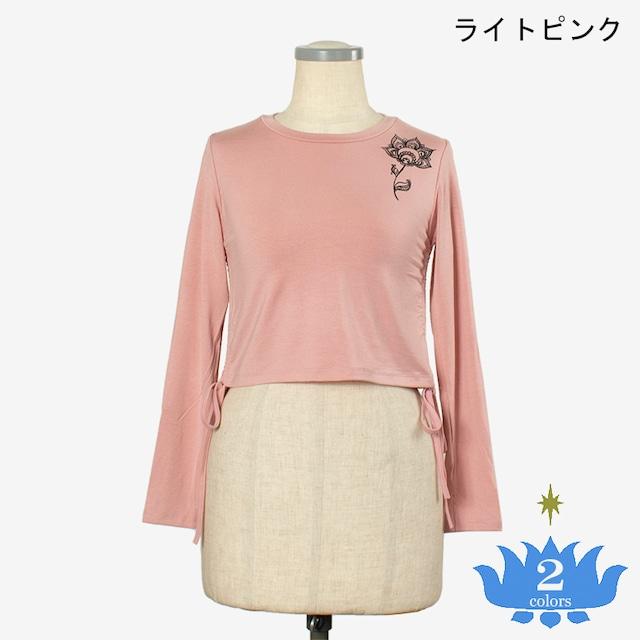 長袖Tシャツ ロータス Long Sleeve T-shirt Lotus