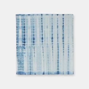 ナイジェリア ヨルバ族の藍染布 アディレ・絞りの風呂敷 SL043