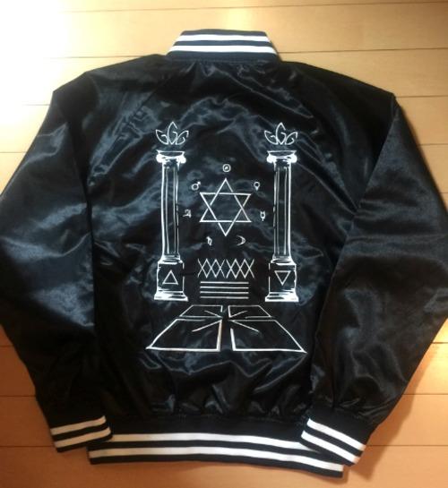 ジャケット刺繍オーダー