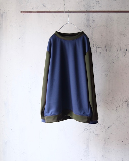 Eldritch Jersey Tops(switching sleeve)Navy body