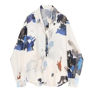 Large flowered shirt(ラージフラワードシャツ)b-483