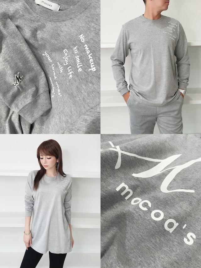 再入荷!m.mocoa'sロンT ¥5,800+tax