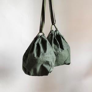 Re make Military Bag #1 / リメイク ミリタリー 巾着 バック