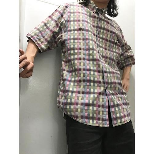 90's THE TERRITORY AHEAD チェックシャツ