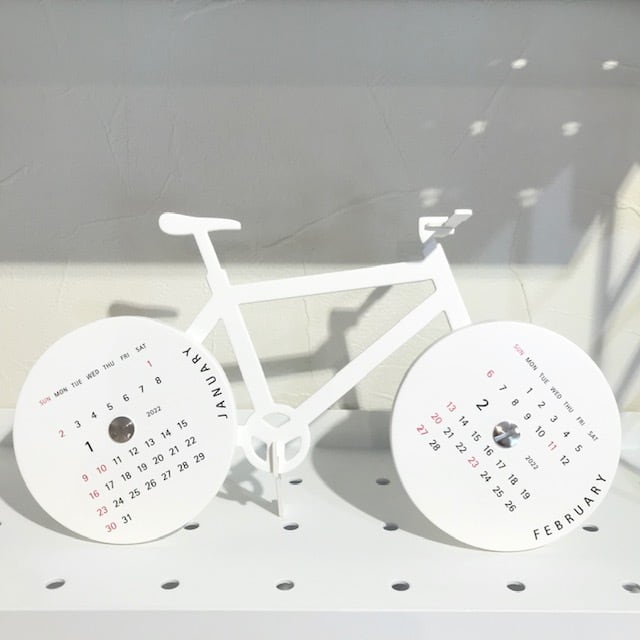 【good morning calendar 2022】bike  グッドモーニングカレンダー2022