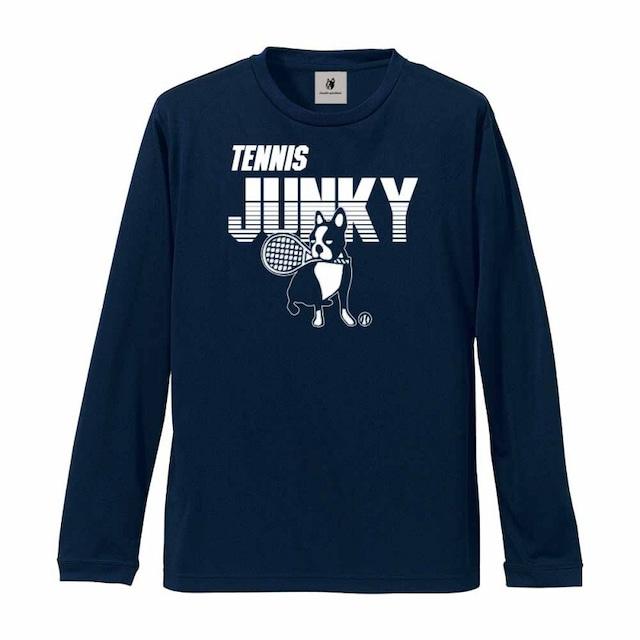 スマッシュ+15 長袖Tシャツ(TJ20506)/ネイビー(21)・ブラック(2)・ブルー(57)・グリーン(71)・ホワイト(1)