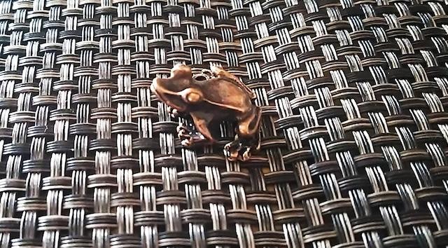 蛙 お香立て 中国