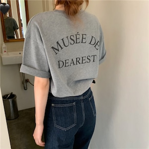 【送料無料】オーバーサイズ Tシャツ(dearest) T139