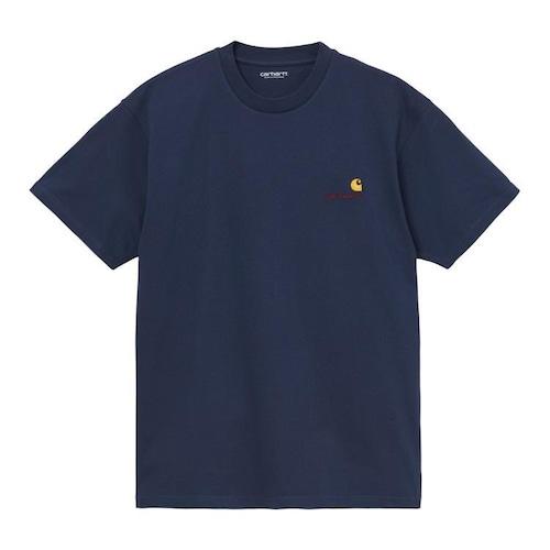 【Carhartt WIP】 S/S AMERICAN SCRIPT T-SHIRT - Space カーハート 半袖 Tシャツ