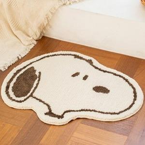 【韓国限定】peanuts snoopy foot mat / ピーナツ スヌーピー フットマット ラグ 公式 韓国雑貨