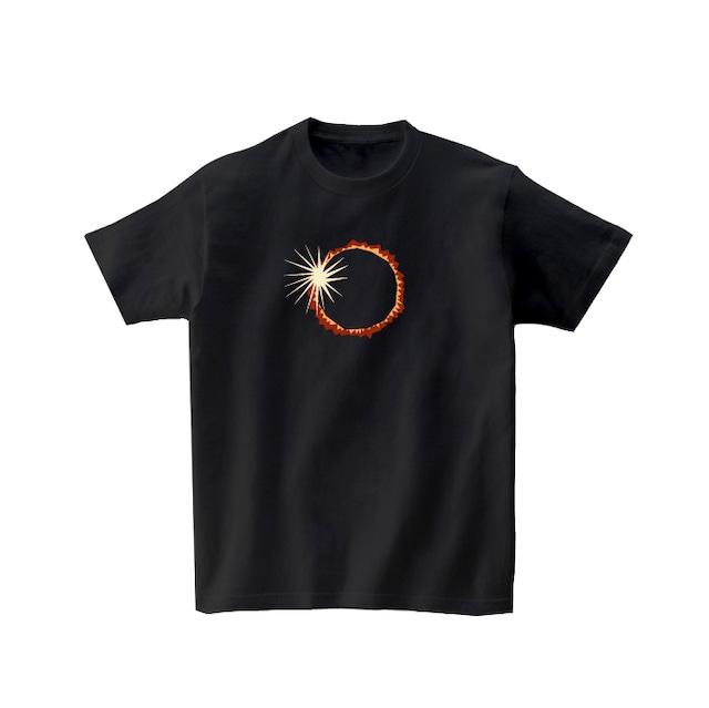 宇宙Tシャツ-金環日食