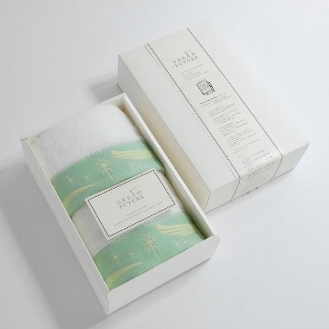 無撚糸(むねんし)高級Hand Towel 3枚SET GREEN / GREEN / GREEN
