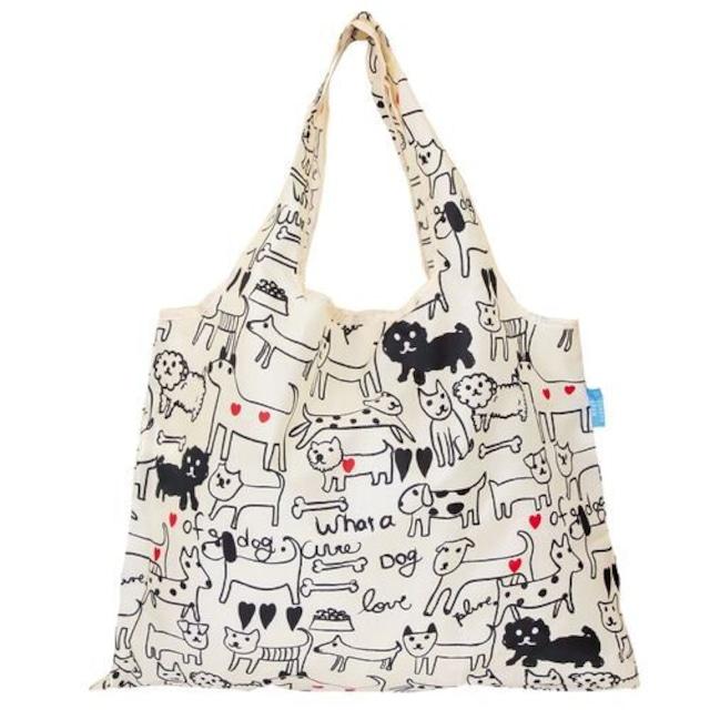 ショッピングバッグ 2way shopping Bag Dog