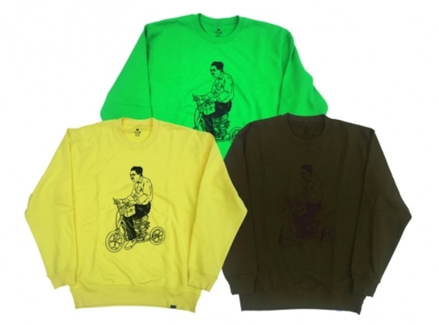 SCOOT CREW NECK SWT. NEW COLOR / PANCAKE