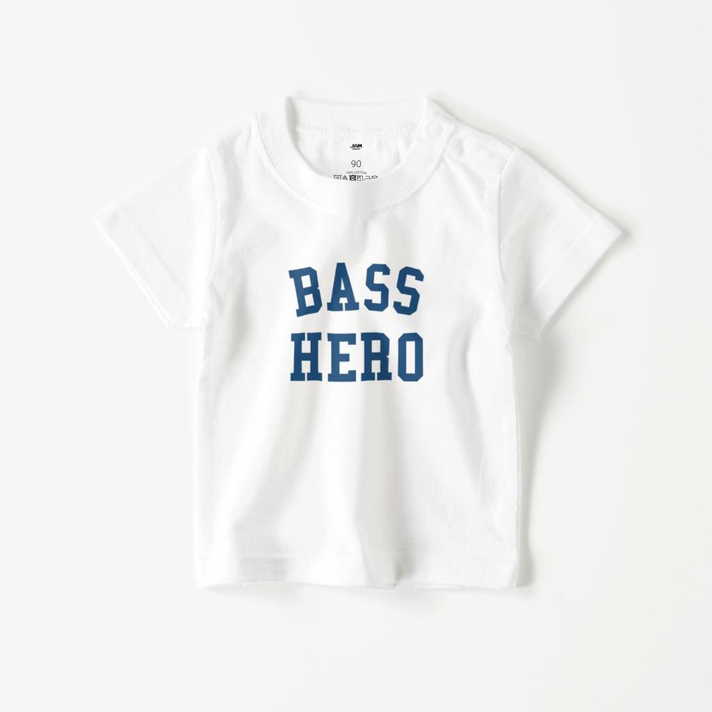 BASS HERO BABY T (WHITE)