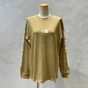 NEW ERA/ボックスロゴコットンロングTシャツ