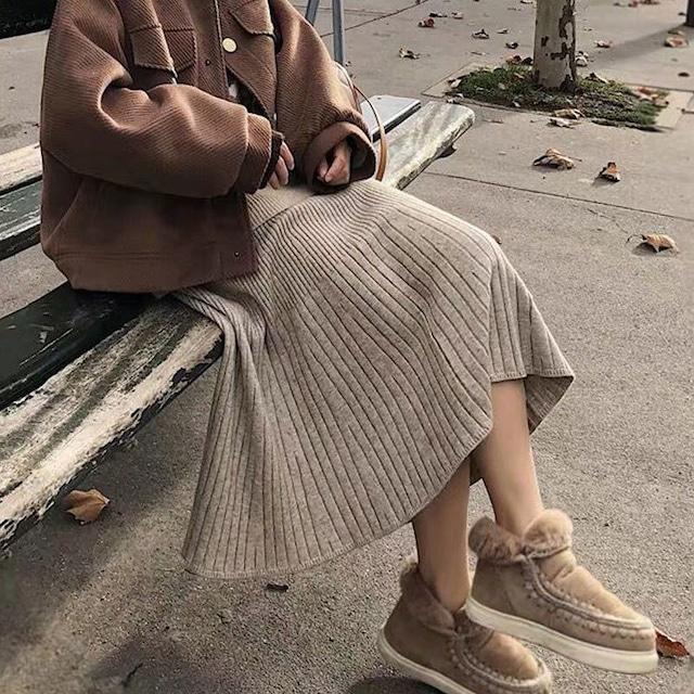 スカート ニットスカート SHQ532001