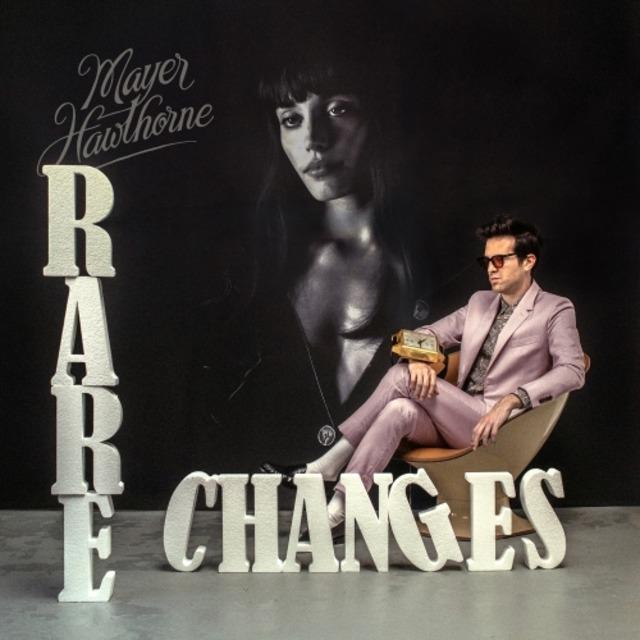 [7/28発売 新品7inch]  MAYER HAWTHORNE - RARE CHANGE / ONLY YOU